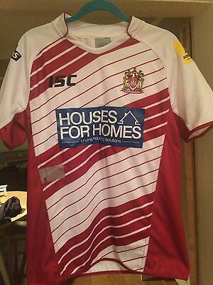 WIGAN WARRIORS 2013 HOME RUGBY SHIRT JERSEY SIZE ADULT Medium