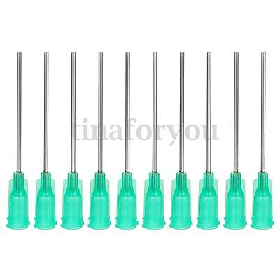 10x1.5'' Blunt Dispensing Needles Syringe Needle Tips 18 Gauge Stainless steel