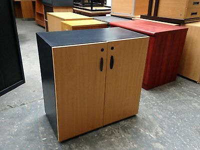 BEECH OFFICE CUPBOARD, STATIONERY, BOX FILES, CABINET, OFFICE SUPPLIES etc