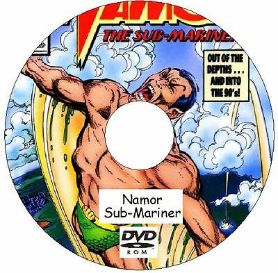 Namor Sub-Mariner Prince Namor Comic Collection 152 Issues on DVD