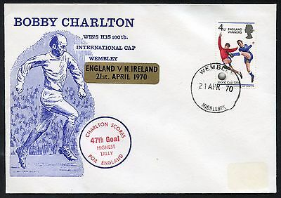 Football - Bobby Charlton Commemorative Cover