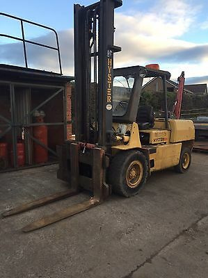 Hyster Forklift 5 Ton Lift