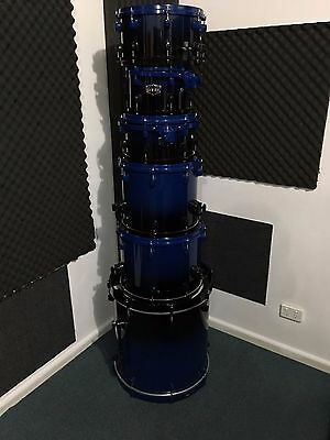 Ddrum Dominion Duo Fade 6 Piece Drum Kit + Hardware and Bags