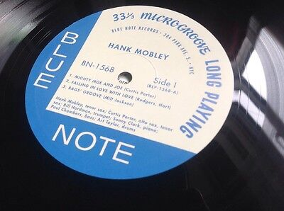 Hank Mobley Blue Note 1568 NYC Mint Condition