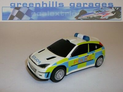 Greenhills Scalextric Ford Focus Police Car C2488 - Used - 18446  ##