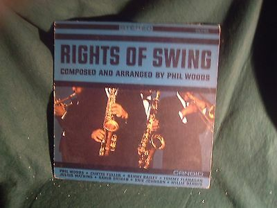Phil Woods Rights Of Swing Candid Stereo 9016