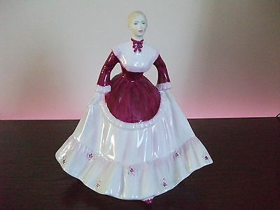 """Coalport Figurine """"Carol"""" From The Ladies of Fashion Collection"""