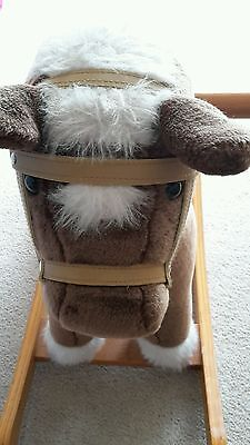 Mamas & Papas Rocking Horse with sound effect