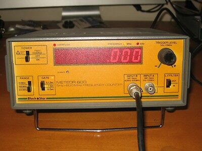 Meteor 600 Frequency Counter, Collection Only