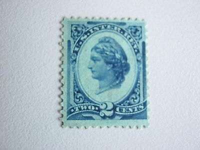 Early U.s. Inter. Rev. Two Cents Mint Stamp