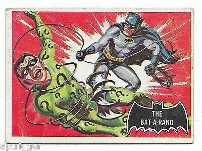 1966 Topps BATMAN Black Bat (46) The Bat-A-Rang