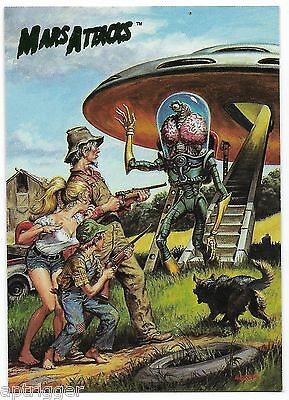 1994 Topps Mars Attacks Base Card (#72) Earl Norem's Flip Cover #1