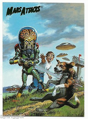 1994 Topps Mars Attacks Base Card (#73) Earl Norem's Flip Cover #2