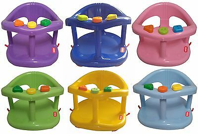 Infant Baby Bath Tub Ring Seat Color KETER Blue Pink Green Purple New in BOX