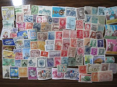 100 CENTRAL & SOUTH AMERICA STAMPS (Peru, Paraguay, Brazil, Colombia etc)