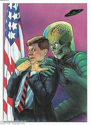 1994 Topps Mars Attacks Base Card (#92) New Visions