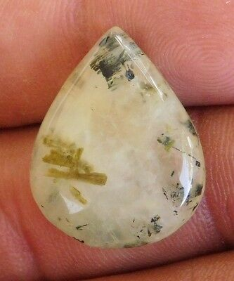 26.55Cts Genuine  100% Natural  Prehnite   100% Natural Cabochon Loose Gemstone