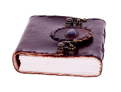 Medieval Stone Leather Journal Diary Collectible Templar 100 Pages Soft Paper6x4