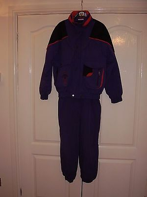 """Child's ski suit (jacket+salopettes) by Rodeo chest 34"""""""