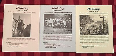Rodziny - Journal of the Polish Genealogical Society of America - 3 From 2016