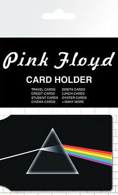 PINK FLOYD - Dark Side of the Moon - CARD HOLDER NEW CARDED BAGGED Official