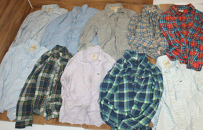 Job Lot 10 Tops Shirts Hollister Wholesale Genuine Vintage Is31