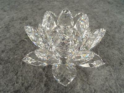 Swarovski Waterlily Candleholder Medium - Retired
