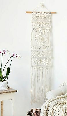 Excellent Unique New Year Home Decorative Happy Gift Macrame Wall Hanging