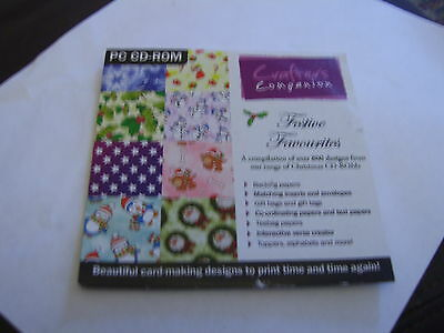 Crafter's Companion  Festive Favourites PC CD-ROM