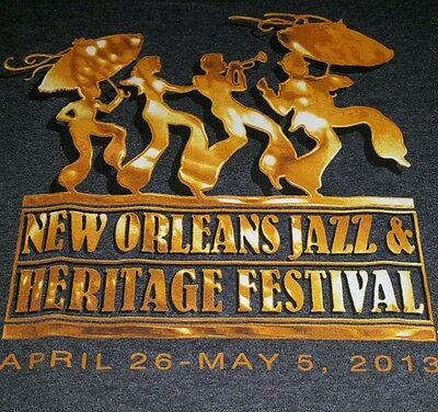 New Orleans JAZZ FEST 2013 Limited Collectible T-Shirt Size Large