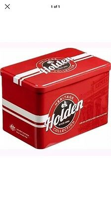 Brand New 2016- Holden Heritage 50c Collection Set. Tin ONLY. No Coins.