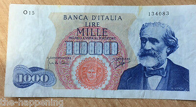 Italy - 1962 Issue - 1000 Lira - O15 134083