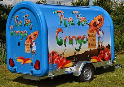 Catering Trailer - CaterPod Mobile Food Trailer For Sale,  Slightly Used Twice !