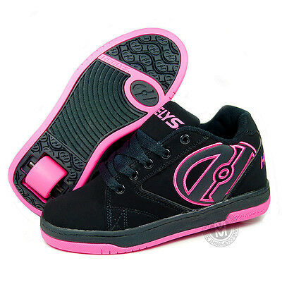 Heelys Propel 2.0 Black/Hot Pink Roller Shoes UK Size 3 & Junior 13 SALE!