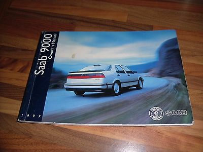 Saab 9000 Cs Owners Manual/hand Book, 1997