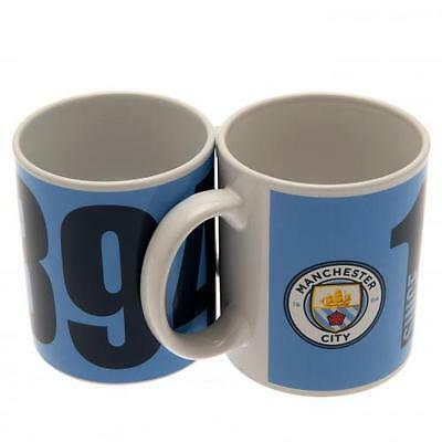 Official Licensed Football Product Manchester City Mug Since Cup Coffee Gift New
