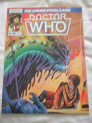 Doctor Who 1985 Summer Special Classic Magazine - The Iron Legion Comic Strip
