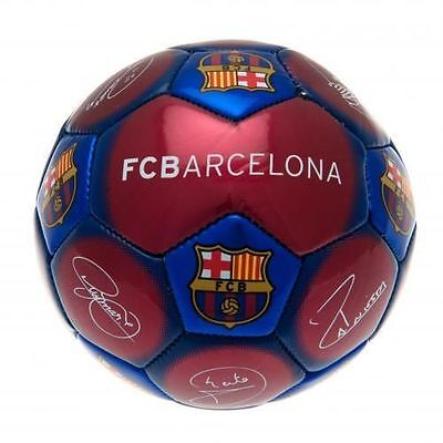 Official Licensed Football FC Barcelona Skill Ball Signature Size 1 Crest Gift