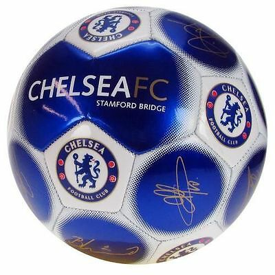 Official Licensed Football Product Chelsea Signature Football Size 5 Gift New