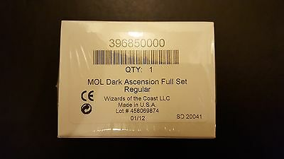 1xMtg Complete Dark Ascension, Factory Sealed set. Mikaeus/Grafdigger's Cage