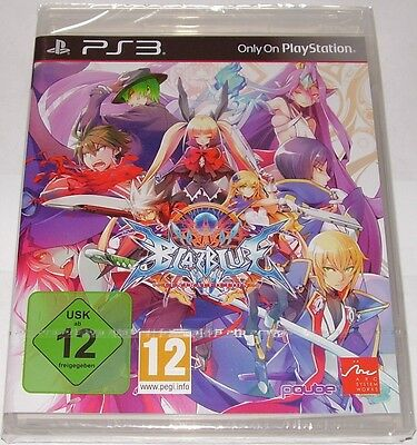Blazblue Centralfiction (Central Fiction) For Ps3; New & Sealed