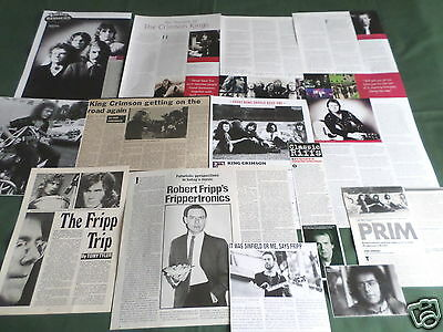 """King Crimson - Rock Music- """"clippings /cuttings Pack"""""""