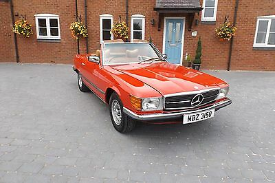 1978 Mercedes Benz SL350 1978 r107 Fully Restored (Red) Full Leather