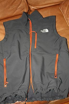 North Face Softshell Vest--Beautiful color combo Unisex