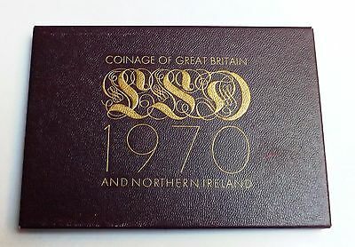 1970 Eight Coin Pre-Decimal Proof Set + Coa And Packaging