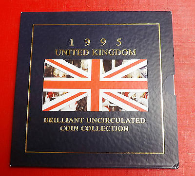 1995 Brilliant Uncirculated Decimal Coin Set All Packaging And Paperwork