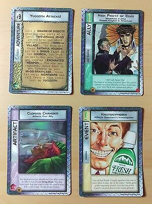100% Complete New Aeon Set From Mythos Ccg/tcg (1997)