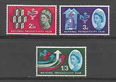 Great Britain 1962. N.p.y.  Phosphor Set Mint Hinged