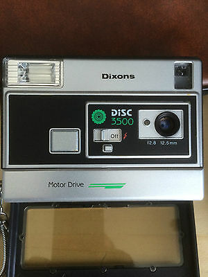 Dixons Disc Camera with Case
