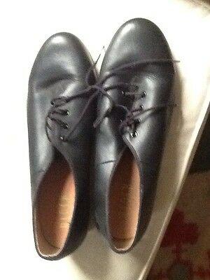 leather Bloch tap shoes size 12
